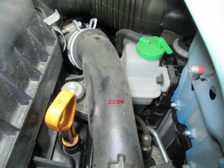 冷却水の量の点検